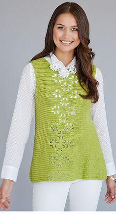 Dora Ohrenstein, Flurries Tunic pattern  | on Ravelry