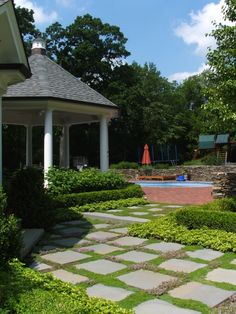 New Brick House Front Yard Landscaping Boxwood Design, Pictures, Remodel, Decor and Ideas - page 13