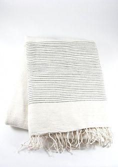 Small Design Imports Black Diamond Fouta Towel