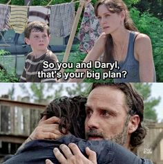 Rick and Daryl could probably make it by themselves.