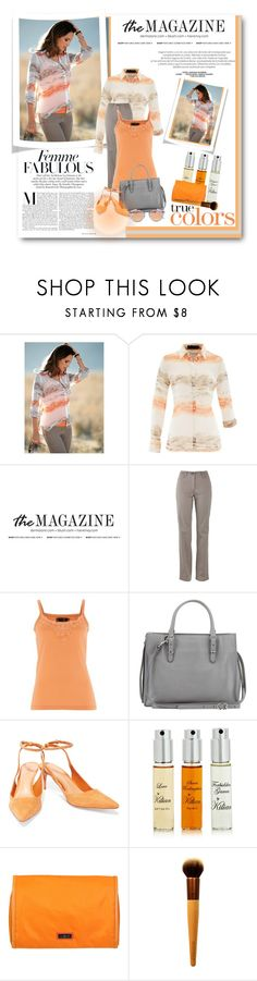 """fashion-and- beauty -miracles ""100"" by fashion-and-beauty-miracles ❤ liked on Polyvore featuring Balenciaga, Schutz, By Kilian, Hadaki, EcoTools and Westward Leaning"