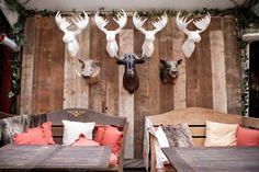 Winter home decor inspired by NYC bar Hudson Lodge