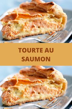 Salmon pie - recipes from around the world - - Pizza Recipes, Seafood Recipes, Crockpot Recipes, Cooking Recipes, Salmon Pie, Salmon Dinner, Healthy Salmon Recipes, Vegetarian Recipes, Empanadas