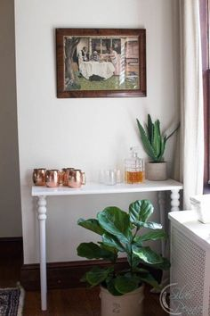 For as long as I can remember I've wanted a bar cart or console in our dining room. After looking for two years, I decided to make my own #handmadefurniture.  I…