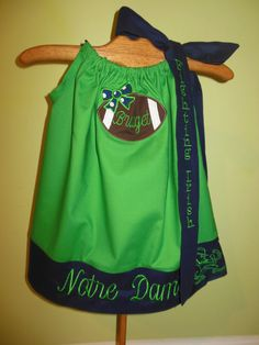Hey, I found this really awesome Etsy listing at http://www.etsy.com/listing/97199078/fighting-irish-dress