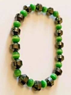 """Natural Of Emerald Gemstone Handmade Necklace 20/"""" With 925 Silver Clasp 80 Ct"""