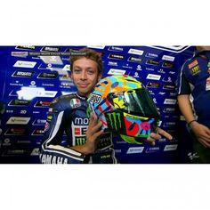 AGV Corsa Valentino Rossi Misano 2014 Limited Edition Helmet available at Motochani.com