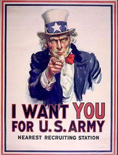 La educación de interés: El tío Sam, el símbolo nacional de los Estados Uni...
