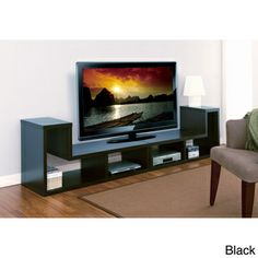 Novelty Multi-functional 2-piece Display Shelf | Overstock.com Shopping - The Best Deals on Media/Bookshelves