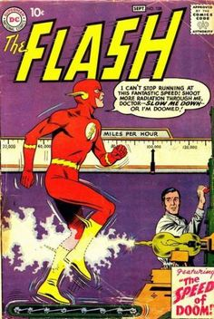The Flash #108 - The Speed of Doom! / The Super-Gorilla's Secret Identity!