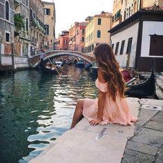 #venice city trip^, bridge, vacation, romantic - Dream - water, cool, #Hot romantic place #dress