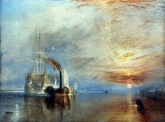 The Fighting Temeraire by Turner.