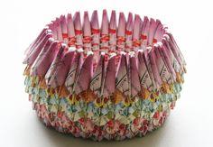 Origami Paper Bowl