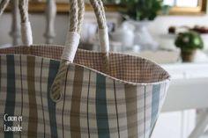 Coton et Lavande: Beach bag tutorial