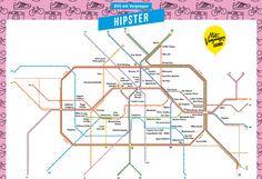 In unserer neusten Netzplan-Karte führen wir euch zu den angesagtesten Orten in Berlin, die ihr garantiert mit Bus und Bahn erreicht.