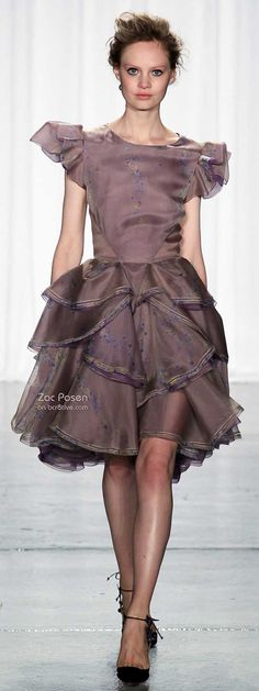 Zac Posen Spring 2014 New York Fashion Week » bcr8tive