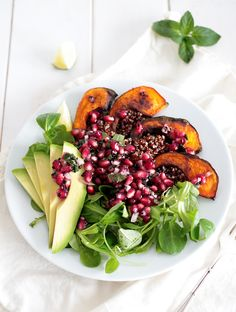 Pomegranate and Mint Relish • Green Evi