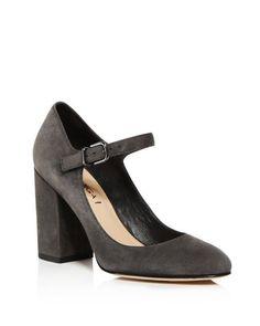 026e98d92 Via Spiga Deanna Mary Jane Block Heel Pumps Shoes - Bloomingdale s