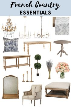 Essential French Country Items - Decor Curator French Country Interiors, French Style Homes, French Country Bedrooms, French Country Living Room, French Country Farmhouse, French Interior, French Country Style, French Decor, French Country Decorating