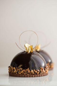 """cyntemesy55: """"Chocolate Hazelnut Praline Petit Gateau """""""