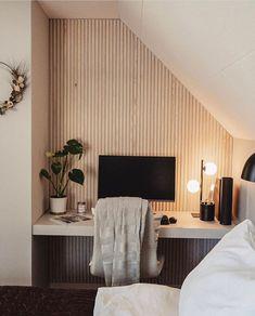 Modern Kitchen Design, Modern Interior Design, Modern Home Offices, Minimalist Office, Home Office Space, New Home Designs, New Homes, House Design, Instagram