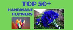 Top 50+ #Handmade #http://decor2adoreable.com/wp-content/uploads/2012/07/handmade-flowers.pngFlowers