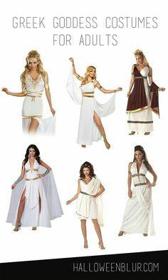 Griechische Göttinnen Kostüme Greek Goddess Costumes For Adults Diy Halloween Costumes, Adult Costumes, Greek Costumes, Pirate Costumes, Greek Goddess Costume, Godess Costume, Greek Dress, Maquillage Halloween, Greek Clothing