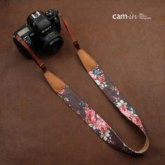 Quality Universal Denim Flower Pattern Neck Strap / Shoulder Strap / Camera Strap / Carrying Strap