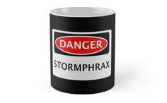 DANGER STORMPHRAX FAKE ELEMENT FUNNY SAFETY SIGN SIGNAGE by DangerSigns