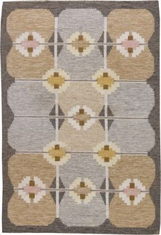 Vintage Rugs: Vintage Rug Swedish Flat weave for Scandinavian scandi interior decor, Scandinavian living room Rug Sale, Grey Rugs, Woven Rug, Home Decor Inspiration, Rugs On Carpet, Vintage Rugs, Bohemian Rug, Weaving, Scandinavian Living