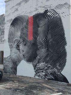 - in West Palm Beach, Fla Stencil Street Art, Stencil Graffiti, Graffiti Murals, Murals Street Art, Stencil Art, Best Street Art, Amazing Street Art, Grafitti Street, Office Art