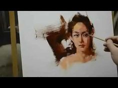 Oil Painting Tutorial - The Portrait techniques - Step by step - YouTube