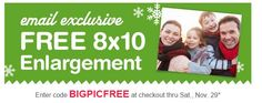 walgreens photo free 8x10