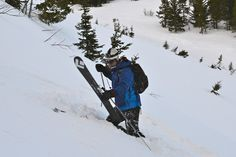 Glacier Backcountry Skiing in Montana
