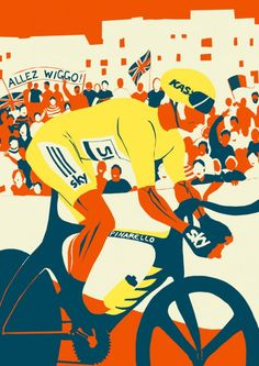 New cycling pictures ‹ Eliza Southwood – Illustrator