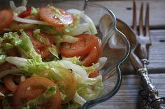 Julie and Julia 365 dias com a Bimby: Salada de alface e tomate