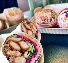 "Avis aux sushis addict, ces ""sushis burritos"" vont vous faire saliver ! (7 photos)"