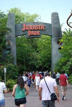 Jurassic Park Island of Adventure, via Flickr.