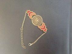 Bead Embroidery Jewelry, Beaded Jewelry Patterns, Bracelet Patterns, Beading Patterns, Seed Bead Jewelry, Bead Jewellery, Seed Bead Projects, Brick Stitch, Diy Jewelry Making