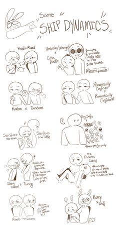 Ship Dynamics by EliteKessu on DeviantArt Ship Dynamics by EliteKessu on DeviantArt,draw Great, now I've got the messed up idea to ship Emma and Gotham. Ship Drawing, Drawing Base, Comic Drawing, Art Drawings Sketches, Cute Drawings, Poses References, Art Prompts, Drawing Expressions, Art Poses