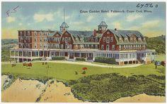 Cape Codder Hotel, Falmouth, Cape Cod, Mass. by Boston Public Library, via Flickr
