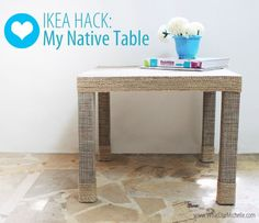 If you have an old Ikea table at home that you don't use or want to replace with new one because it looks too simple or you got bored with it, you can use the following 15 ideas as example for Ikea lack table transformations...