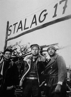 Stalag 17(1953), Written and Directed by Billy Wilder. Love this film, love this director.