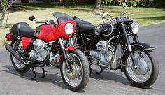 Defining the Format: 1971 Moto Guzzi Ambassador - Classic Italian Motorcycles - Motorcycle Classics