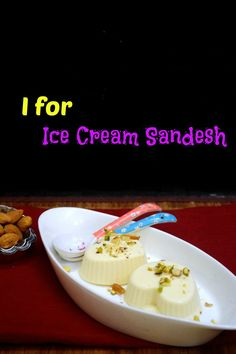 Ice Cream Sandesh or Sandesh Kulfi is an interesting twist of the Indian Kulfi made with fresh chhana or paneer. Sandesh Kulfi requires just 4 ingredients.