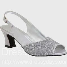 Silver foldable ballet flats shoes   Wedding Ideas   Pinterest ...