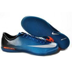 nike mercurial vapor ix ic blue white orange
