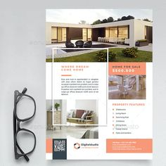 Real Estate Ads, Real Estate Flyers, Real Estate Marketing, Ad Design, Layout Design, Real Estate Flyer Template, Construction, Coffe Table, Poster Ideas