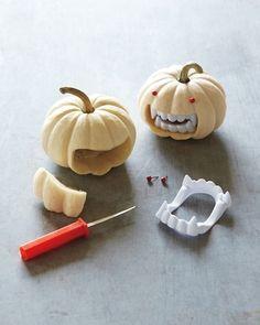 Fanged Pumpkins :)
