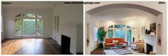 Before/After Staged by THE CLOSING STAGE Los Angeles Home Staging Company and Vacant Property Specialist www.theclosingstage.com  info@theclosingstage.com 310 254 5160